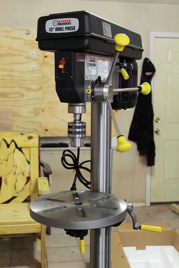 Drill press (10)