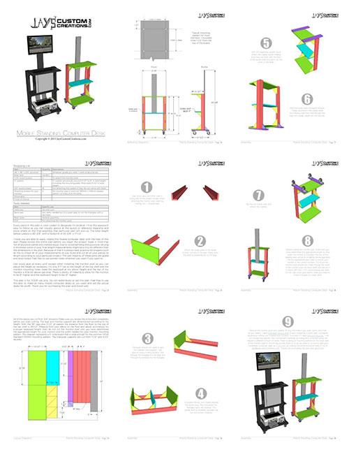 mobile-computer-desk-collage